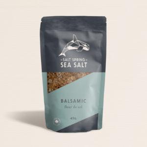 Salt Spring Sea Salt Balsamic fleur de sel
