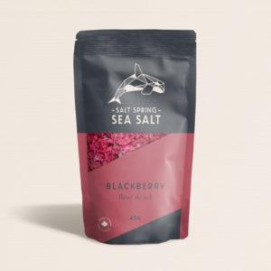 Salt Spring Sea Salt Blackberry fleur de sel