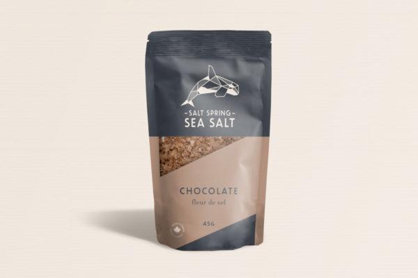 Salt Spring Sea Salt Chocolate fleur de sel