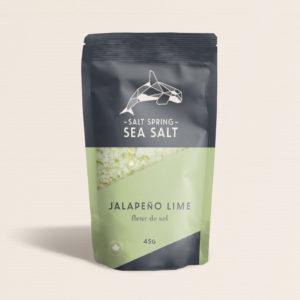 Salt Spring Sea Salt Jalapeno Lime fleur de sel