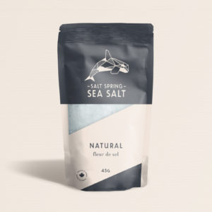 Salt Spring Sea Salt Natural fleur de sel