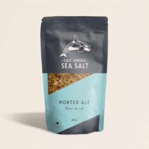 Salt Spring Sea Salt Porter Ale fleur de sel