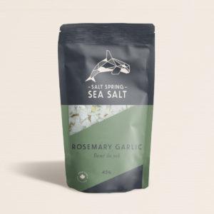 Salt Spring Sea Salt Rosemary Garlic fleur de sel