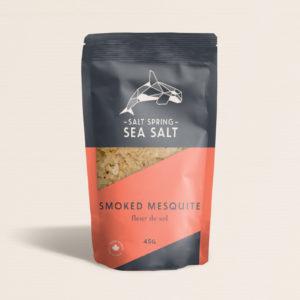 Salt Spring Sea Salt Smoked Mesquite fleur de sel