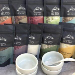 Salt Spring Sea Salt Ten Pack fleur de sel